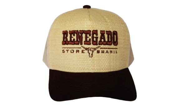 BONÉ RENEGADO VELHO OESTE PALHA - Renegado Store 82229db99e0